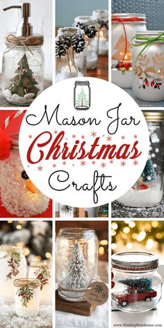 Easy, simple and most of all bud  get friendly - these 15 easy mason jar Christmas craft ideas are a great addition to your festive holiday decor. #masonjarcrafts #masonjarcraftsdiy #masonjarcraftsforchristmas #masonjarcraftstosell #masonjarcraftsforchristmasDIY #masonjarcraftsforchristmasholidayideas #masonjarcraftsforchristmasgifts #masonjarcraftsforchristmasdollarstores