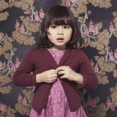 Poppy Rose - aw14 - moira berry cardigan