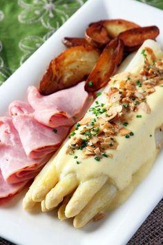 White asparagus, yummy