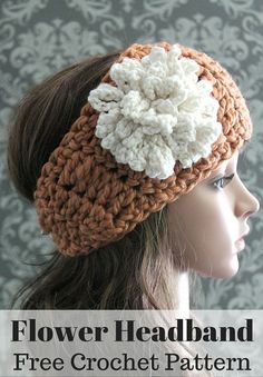 3f364314c9f 70 Best Crochet~Headwraps and Headbands images in 2019