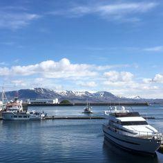 old harbour in Reykjavik