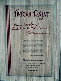 #soekarno Old Advertisements, Advertising, Founding Fathers, Presidents, Peace, History, My Love, Inspiration, Vintage