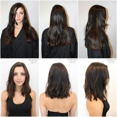 Hair Before and After | Lob