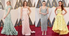 The Best Fashion Trends at the Oscars: Cate Blanchett, Alicia Vikander, and More. In pastels.