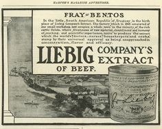 Liebig, the extract which the world's doctors & nurses stamp by their universal approval.