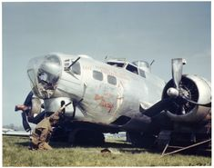 B-17 at Crash site