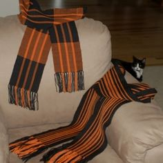 love the warp stripes