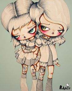 tattoo; ink on her tattoo sisters: pinkytoast small.jpg