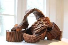 Reclaimed Wood Sculptures by Boyd Lester