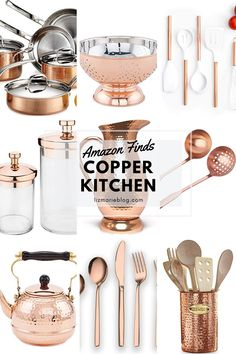 The Easiest Way To Update Your Kitchen Without Remodeling - My Website 2020 Black And Copper Kitchen, Copper Kitchen Accents, Rose Gold Kitchen, Copper Kitchen Decor, Copper Accents, Kitchen Gifts, Kitchen Items, Gadgets, Kitchen Cabinet Design