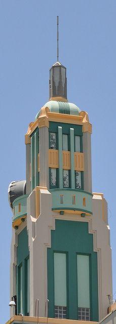Torre Art Deco de la AEE by davsot, via Flickr