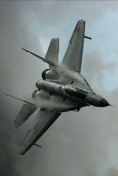 MiG-29 Fulcrum - almost 40, still looking great.