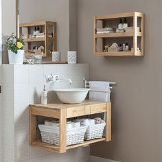 Leroy Merlin mueble lavabo palet