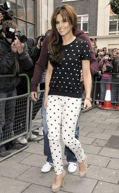 Cheryl Cole's Print-On-Print Outfit: Grazia Fashion Team Give Their Verdict | Grazia Fashion