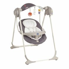 Chicco Polly Swing Up – Silla mecedora, color gris