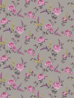 Sophie Conran's Posie Viola (950900) is taken from the Reflections wallpaper collection.background, flowers