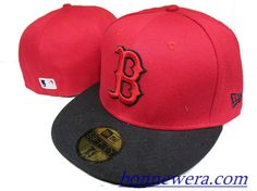 Pas Cher Casquettes Boston Red Sox Fitted 0008 - Acheter MLB Casquettes En Linge - €15.99