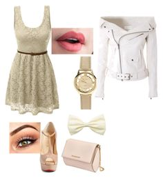"""Untitled #99"" by cicizilla136 on Polyvore featuring LE3NO, Christian Louboutin, Givenchy and Faith Connexion"