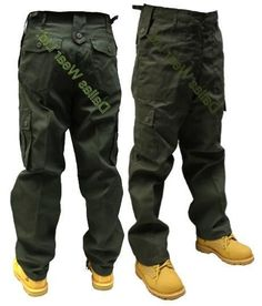 MENS ARMY CARGO CAMO COMBAT TROUSERS/PANTS FREE POSTAGE | eBay £15.99 danny Dickies Pants, Trouser Pants, Cargo Pants, Jeans Outlet, Desert Camo, Woodland Camo, Everyday Dresses, Street Chic, Parachute Pants