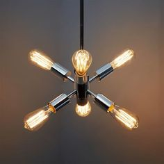 Mobile Pendant - Small | west elm different finishes, looks different w/ different bulbs. Staircase.