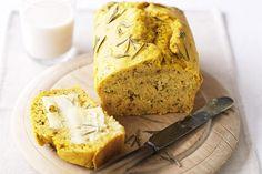 Aromatic Pumpkin Bread. Via http://www.taste.com.au/recipes/23393/pumpkin+bread