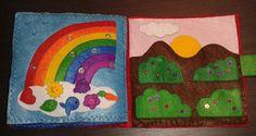 quiet book Kids Rugs, Home Decor, Activities For Babies, Quiet Books, Hand Sewing, Felt, Needlework, Blue Prints, Homemade Home Decor