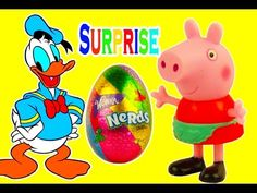 Donald Duck Masha i Medved Peppa Pig  open surprise eggs Wonka Nerds Candy eggs Toys Usa https://www.youtube.com/watch?v=s81Yv47KiUk