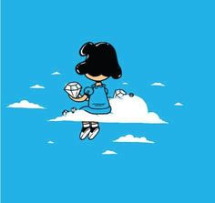 Lucy in the Sky with Diamonds.  (Man, I really love Charles Schultz!!)