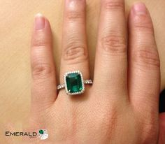 A unique green color contrast to this mega emerald, making the color pop and giving this vintage inspired ring a more stunning.  #emerald #emeraldgemstone #fashion #india #love #ring #ringstack #socialmedia #shopping #photography #trendy #jewelery Emerald Stone Rings, Emerald Jewelry, Emerald Gemstone, Emerald Green, Gold Jewelry, Wedding Jewellery Designs, Gold Ring Designs, Gold Jewellery Design, Panna Stone