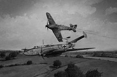 """Latching onto Me 110C-2 L1+XB on 27 September 1940, F/O Percival R-F """"Percy"""" Burton of No 249 Squadron RAF found himself in pursuit of Hptm Horst Liensberger of 5(Z)/LG1 over 40m at treetop height until the guns of Hurricane Mk I GN-H fell silent just north of Hailsham. Slightly above and behind, the 23-year-old South African rammed his opponent's tail at 09.50, both aircraft hanging momentarily at 200ft before hurtling to the ground."""