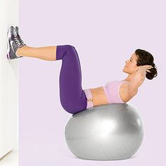 Ab-Toning Stability Ball Workout