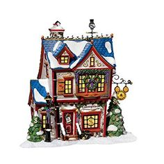 Department 56 North Pole Scrooge McDuck and Marley& Counting House Disney Christmas Village, Grinch Christmas Tree, Disney Christmas Decorations, Christmas Village Houses, Peanuts Christmas, Mickey Mouse Christmas, Christmas Villages, Christmas Love, Christmas Carol
