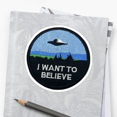 I want to believe extra terrestrial patch inspired Extra Terrestrial, Transparent Stickers, Things I Want, Believe, Finding Yourself, Patches, How To Get, Outer Space