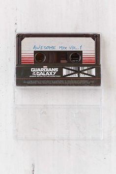 Shop Various Artists - Guardians Of The Galaxy Awesome Mix Vol. 1 Cassette Tape at Urban Outfitters today. Pina Colada Song, Casette Tapes, Hooked On A Feeling, Moonage Daydream, Galaxy Photos, Hollywood Records, Marvel Photo, Branding, Star Lord