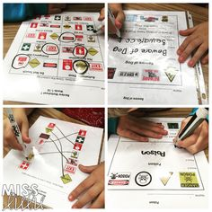 Teach your students essential safety skills with these warning and safety sign worksheets.  It's so important for students with disabilities to learn to be safe in the community!  Being able to name a sign isn't enough- students need to learn the meaning too.