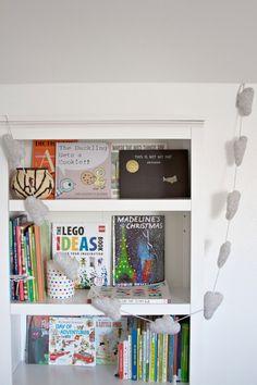 Kids library ideas via Simply Grove