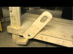 Retractable Work Table Wheels