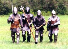 14th century. What I think members from a Free Companie would look like.