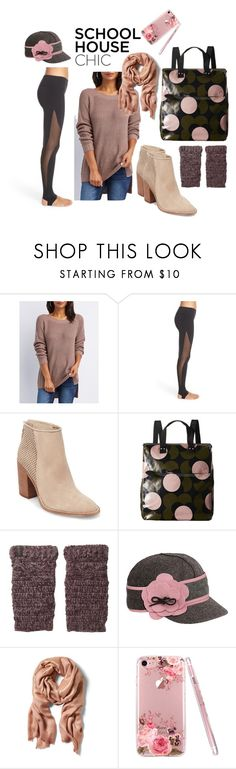 """library time"" by moestesoh ❤ liked on Polyvore featuring Charlotte Russe, Alo, Steve Madden, Orla Kiely, Pistil and Stormy Kromer"