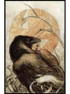 crow art