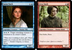 "House Stark Expansion Pack | Why Isn't ""Magic The Gathering: Game Of Thrones Edition"" A Real Thing?"