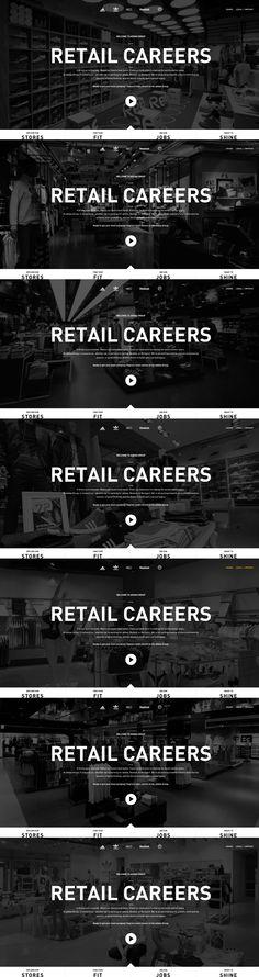 adidas Retail Careers, 24 July, 2013. www.adidasretailjobs.com #Sports #BigBackgroundImages #CSS3 #HTML5 #Design