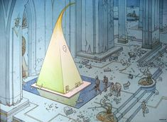 art by the late, great Moebius