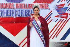 Miss San Pedro 2014 Michelle Nuñez - San Pedro Commemorates St. George's Caye Day