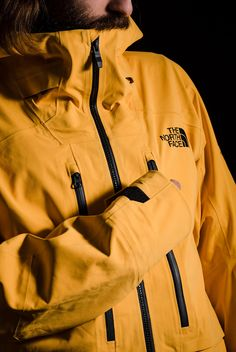 The North Face Futurelight Review: Jackets Change Forever • Gear Patrol North Face Ski Jacket, Summit Series, Outdoor Gear, The North Face, Rain Jacket, Windbreaker, Raincoat, Street Style, Outfits