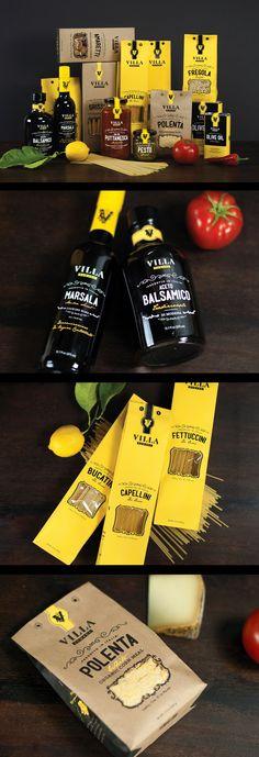 Villa Romana. Italian at its best. #branding #design (Join design group board at https://www.pinterest.com/aldenchong/just-a-board-of-designs/)