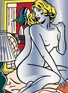 roy lichtenstein desnudo 7