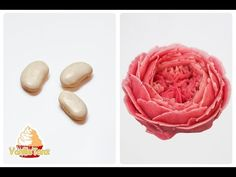 RECIPE / korean bean paste for flower piping / Vegan - YouTube