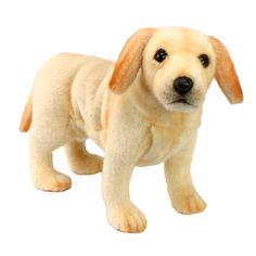 Hansa 14 Inch Plush Labrador Puppy