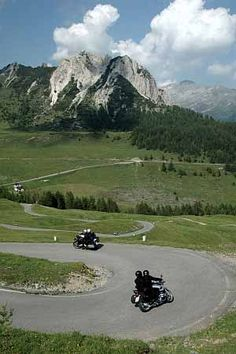 Beach's Motorcycle Adventures - Riding BMWs in the Dolomites